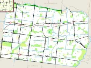 City of Whitehorse showing existing parks.